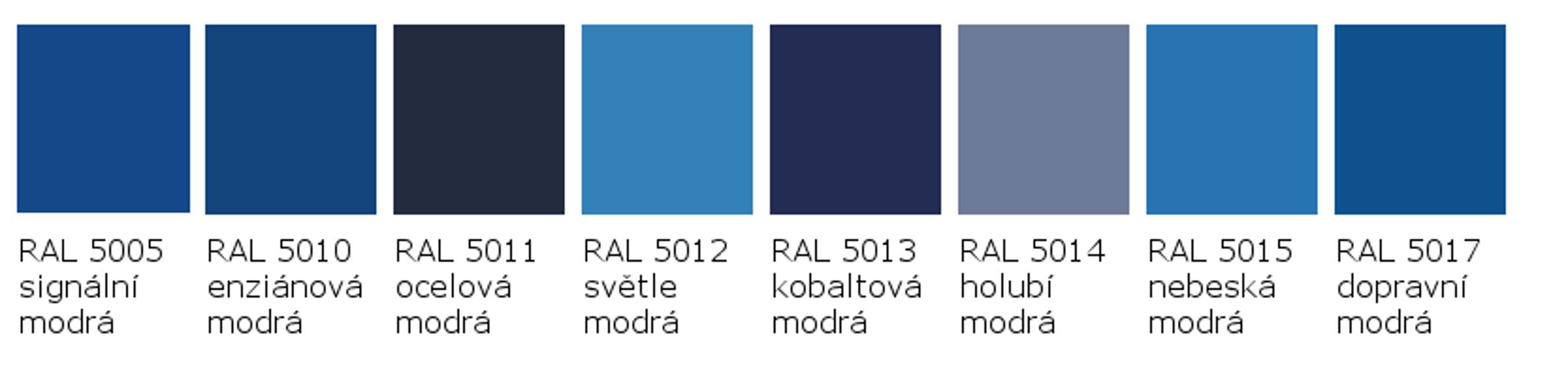 RAL 5005 - RAL 5017